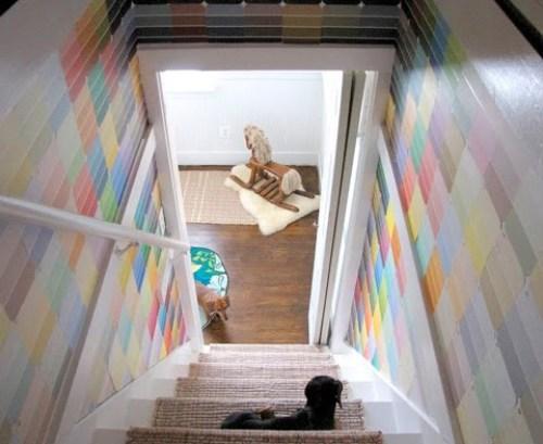 idea-para-decorar-caja-escaleras-carta-colores-pintura