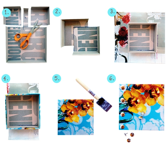 DIY-Project-How-To-Make-Mini-Wall-Shoebox-Art-Tutorial-Creme-de-la-Craft